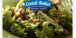 cevizli vegan salata