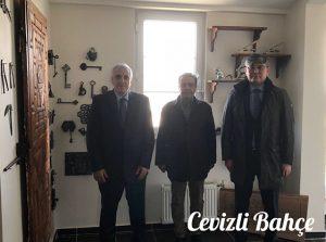 Kazakistan Büyükelçisi Abzal Saparbekuly ve Prof.Dr. Hüseyin Bağcı1